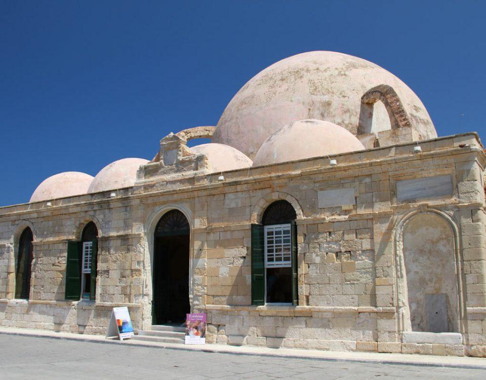 Die Janitscharen Moschee in Chania