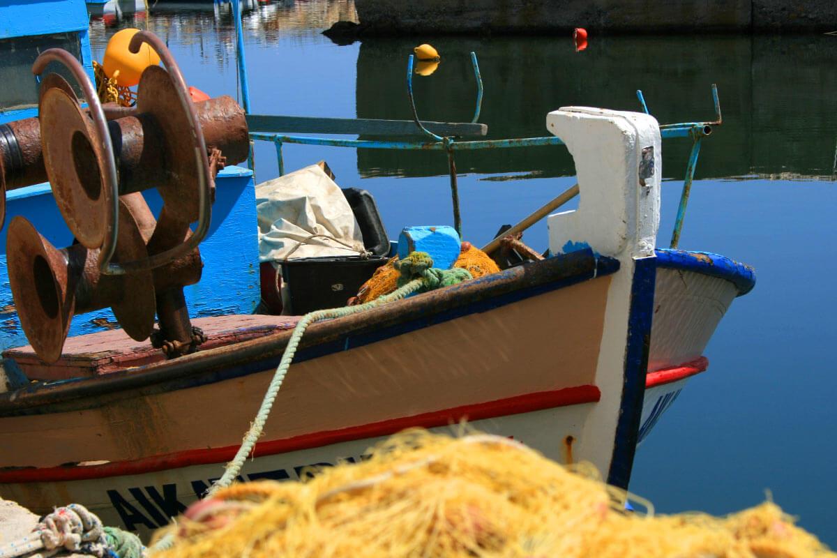 Kolimbari Fischerboot