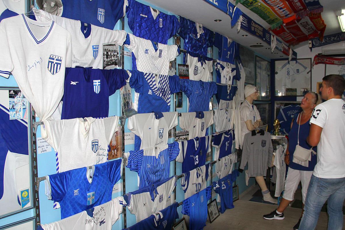 Chania Fussballmuseum.