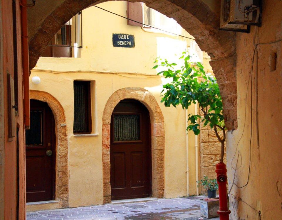 Die Altstadt von Chania