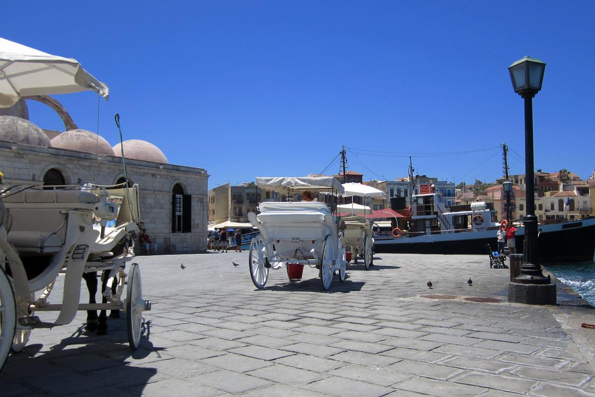 Die Janitscharen Moschee in Chania.