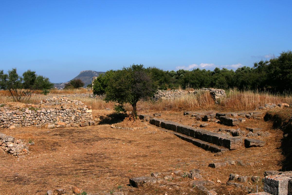 Plateau von Aptera Kreta