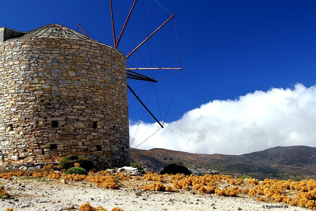 Naxos Windmühle
