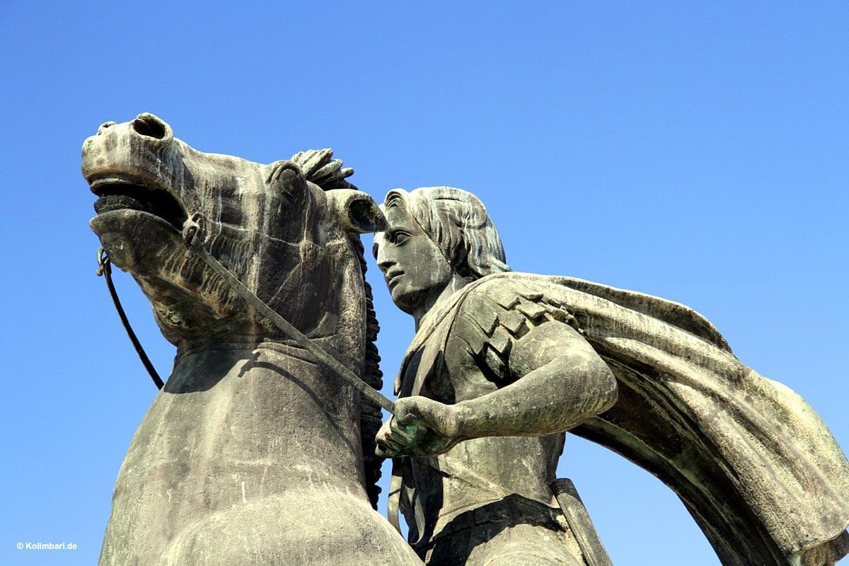 Thessaloniki Denkmal Alexander