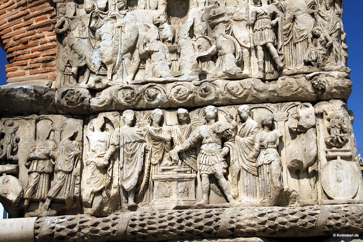 Thessalonike Galeriusbogen